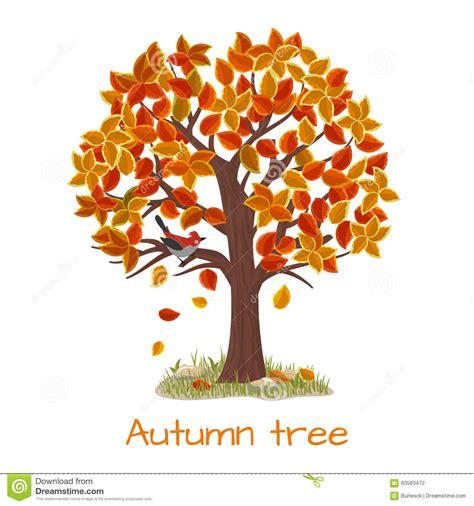autumn season fall tree stock illustration i2767767 at featurepics autumn tree vector stock vector illustration of image 63583472