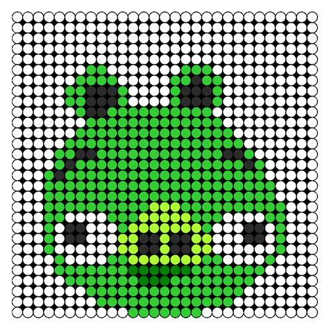 big perler bead patterns large pig perler bead pattern bead sprites characters