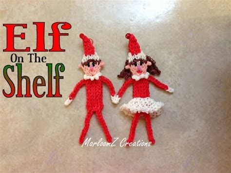 Out On The Shelf by Rainbow Loom On The Shelf Tutorial How To With Bands