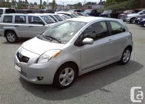 2007 toyota yaris rs low mileage 5800 montr 233 al 2007 toyota yaris rs hatchback great low price