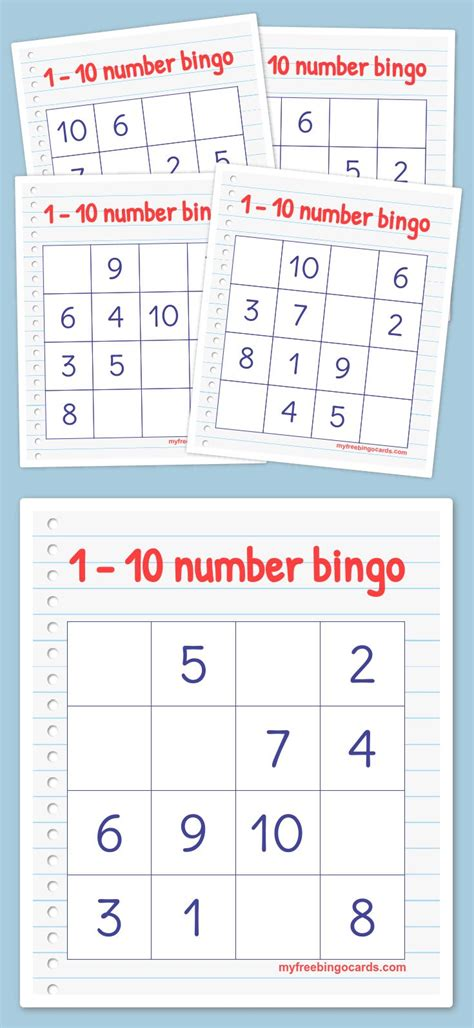 make own bingo cards 1000 ideas about number generator 1 10 on