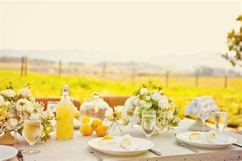 bridal shower themes ideas summer my lemony yellow napa valley bridal shower inspired by this