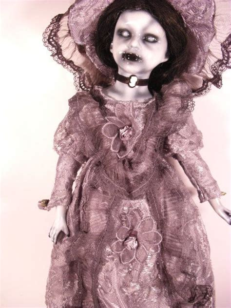 porcelain doll meaning chiyoye 18 quot spooky scary ooak painted and altered