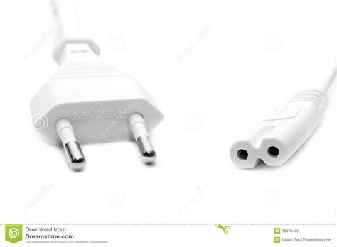 electric white wire royalty free stock photo image 10370405