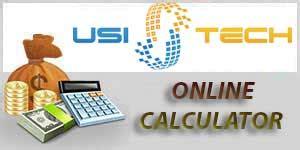 calculator usi tech usi tech online income calculator and download excel