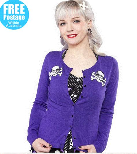 Rok Cardi Inest rock and roll vera gin vintage