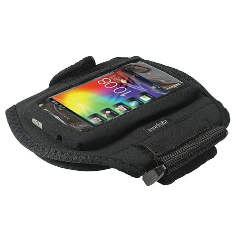 Hp Htc Explorer black neoprene sports armband for htc explorer a310e android running ebay