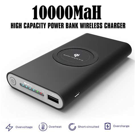 bk bank saapni universal qi wireless external battery backup