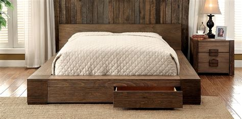 natural wood platform bed queen natural wood platform bed frame with drawers