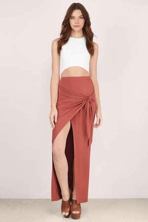 Best Seller Pleated Skirt 692 Rok Midi Rok Kerja trendy rust skirt high slit skirt maxi skirt rust