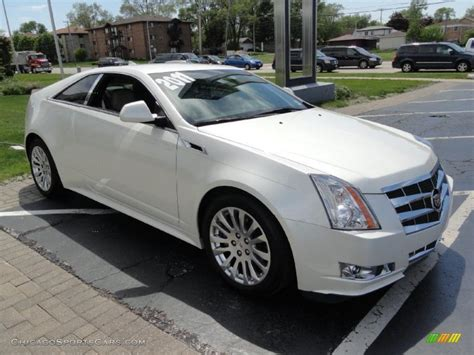 White Cadillac Cts by 2011 Cadillac Cts Coupe White 2011 Cadillac Cts Coupe In