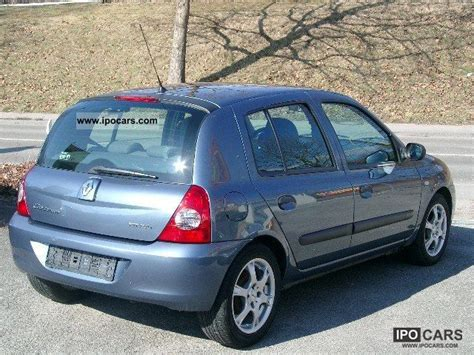 renault clio 2007 2007 renault clio 1 2 16v cus car photo and specs