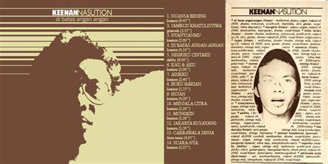 Kaset Kata Band Terbang liner notes reissue album di batas angan angan keenan nasution dennysakrie63 s