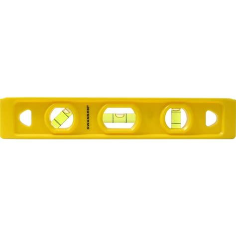 home depot paint levels swanson 9 in speedlite torpedo level tl011 the home depot