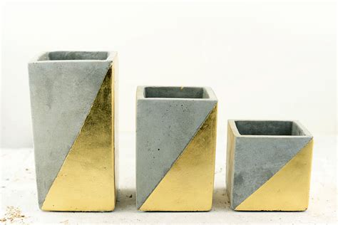 Cube Vases by Gold Dipped Paradox Cube Vase 3 Quot