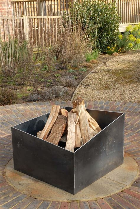Metal Firepit Magmafirepits Contemporary Quality Pits Uk Made