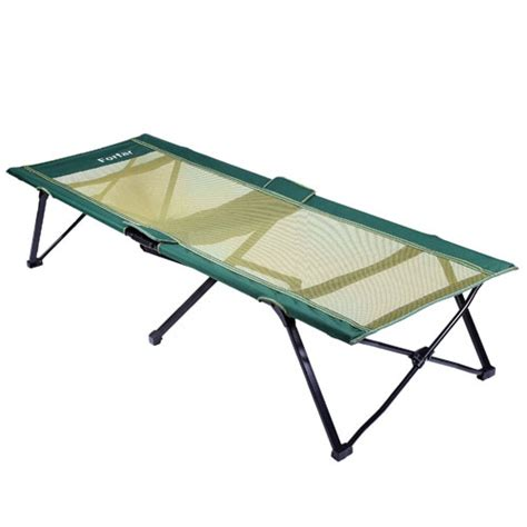 comfortable cots forfar portable lightweight comfortable green 75 inch