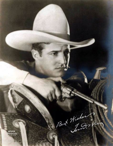 film cowboy hollywood maybelline story blog tom mix hollywood s first western