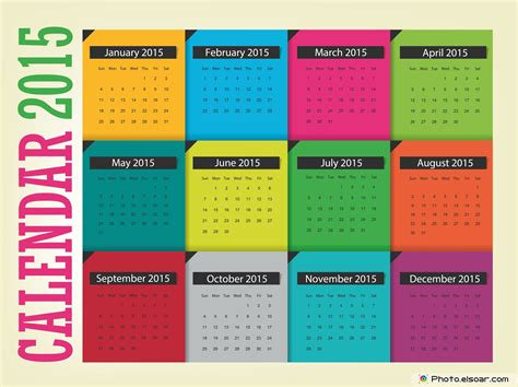 layout calendar 2015 original calendars for 2015 in different ideas elsoar