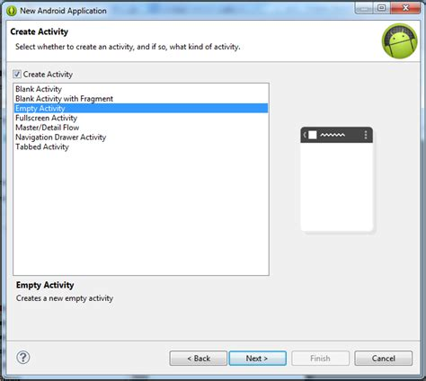 layout editor doesn t work eclipse java eclipse doesn t create main activity and layout