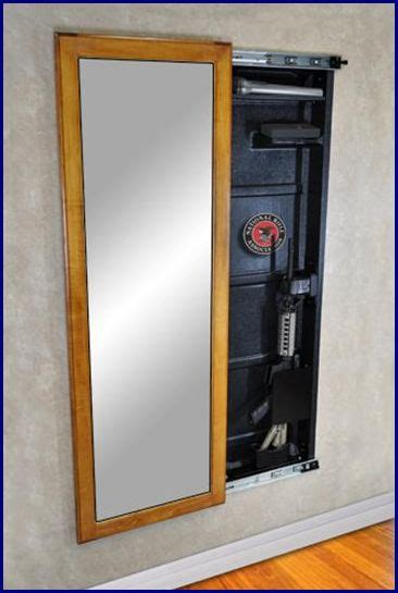wall mount sliding mirror gun cabinets tactical walls 1 with a bullet