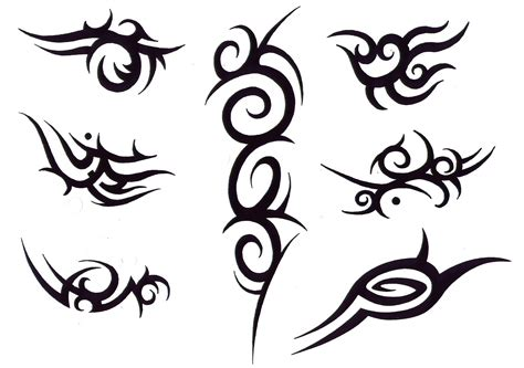types of tribal tattoos designs tribal design img34 171 tribal 171 flash tatto sets