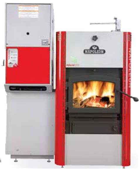 wood & propane combo | carleton refrigeration