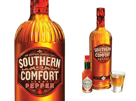 southern comfort pepper southern comfort fiery pepper on packaging of the world