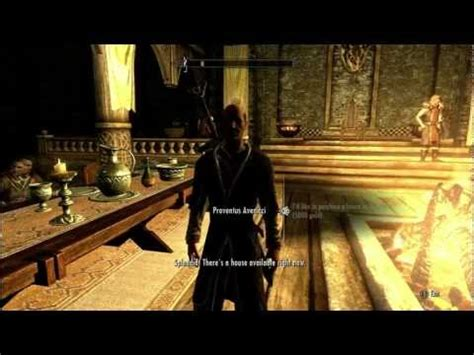 skyrim how to buy a house in whiterun for free skyrim buying a house in whiterun doovi
