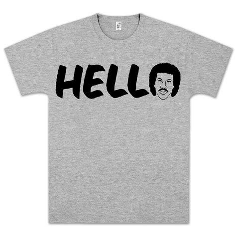 Hello Golden Tshirt lionel richie hello t shirt musictoday superstore
