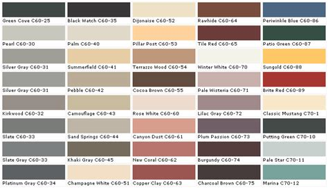 charcoal color pallete chip sle swatch palette color charts exterior