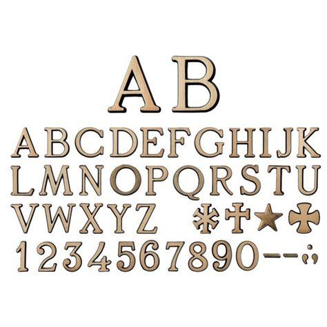 lettere romani confezioni da 25 caratteri romano spazzolato in varie