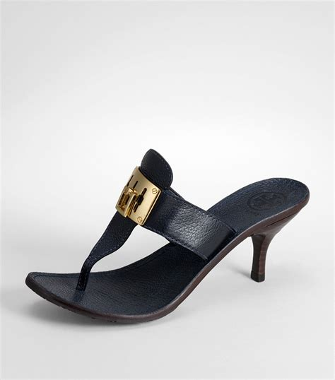 navy sandals burch sibyll sandal in blue navy lyst