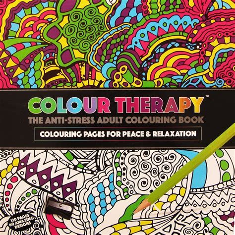 do anti stress colouring books work new anti stress colour therapy colouring books pencils set