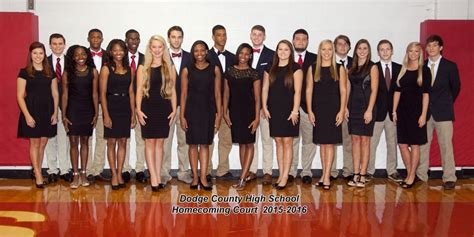 homecoming 2015 dodge county high school