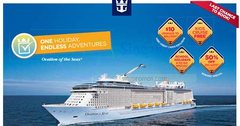 Royal Caribbean Gift Card Discount - royal caribbean roadshow at amk hub cruise from 398 from 22 26 mar 2017