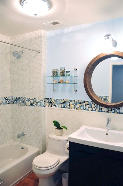 bathroom with mosaic tiles ideas bathroom designs with glass bath interior decorating las