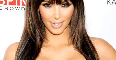 kim kardashiantop 10 best hairstyles ever blunt bangs kim kardashian s best hairstyles ever us