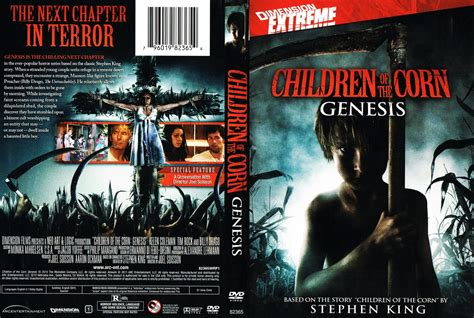 children of the corn genesis children of the corn genesis dvd scanned covers