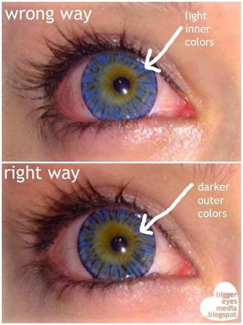 how to my to outside how to tell if your circle lenses are inside out paperblog