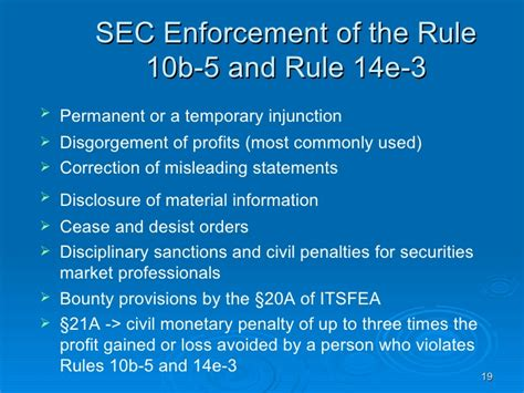section 5 rule 113 of the rules of court section 10b and rule 10b 5 28 images insider ppt sec