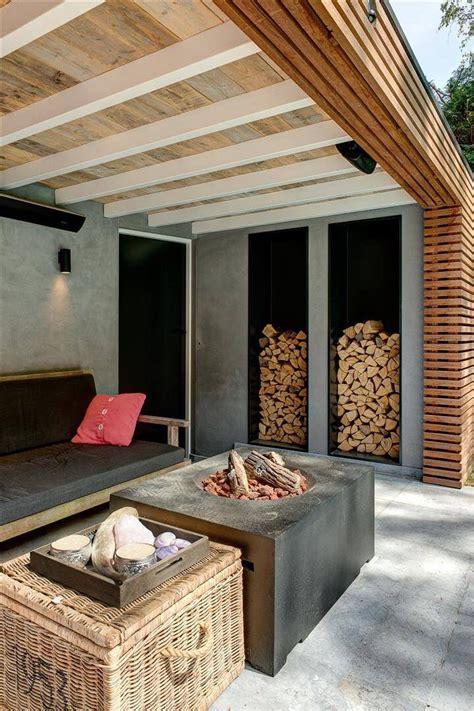 Garten Sitzecke Holz by Garten 220 Berdachung Sitzecke Holz Und Beton Carport