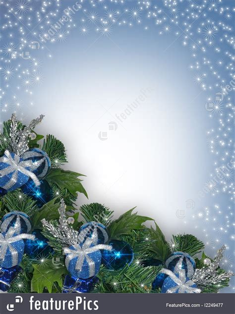 templates christmas  hanukkah background blue stock