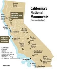 does california need more national monuments kqed science