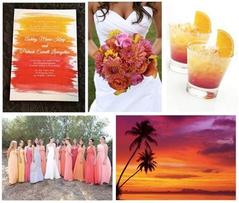 Sunset Wedding Inspiration   Sunset Wedding Theme, Sunset