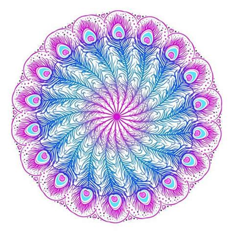 Stores To Buy Home Decor Feathery Mandala Tapestry