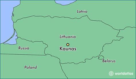 lithuania location on world map where is kaunas lithuania kaunas kauno apskritis map