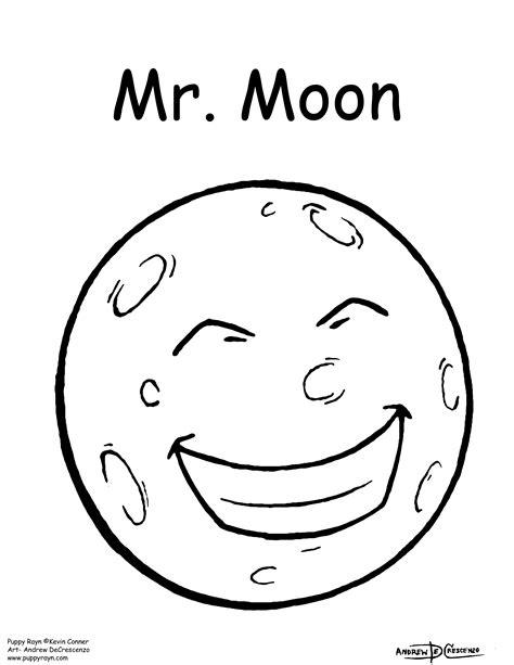 coloring page of full moon under pants coloring page coloring pages