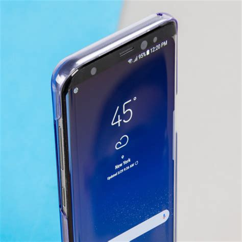 Official Samsung Silicone Cover Blue Galaxy S8 Plus official samsung galaxy s8 clear cover violet