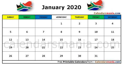 january  calendar south africa daily calendar template calendar excel calendar
